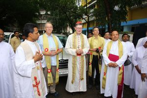 Cardinal Rainer Woelki's Visit to Calicut Diocese