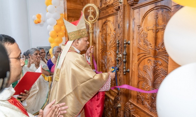 Blessing of the renovated St Patrick's Church, Kallai